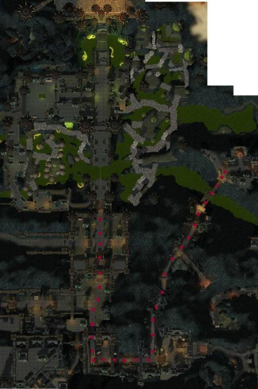 LOTRO Maps Carn Dum