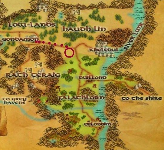 LOTRO Maps Ered Luin